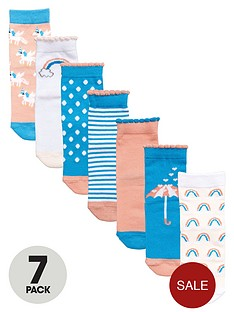 mini-v-by-very-7pk-unicorns-and-rainbows-socks