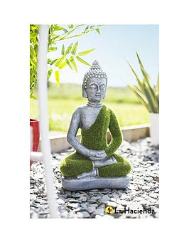 La Hacienda Small Flocked Buddha