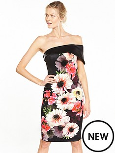 v-by-very-bardot-printed-prom-dress