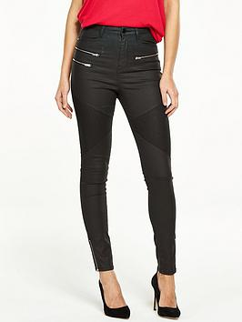 v-by-very-coated-utility-biker-jean