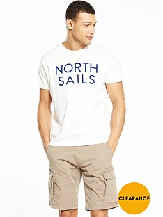 north-sails-text-t-shirt