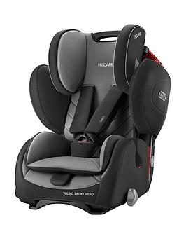 Recaro Young Sport Hero Group 23 Car Seat  Carbon Black