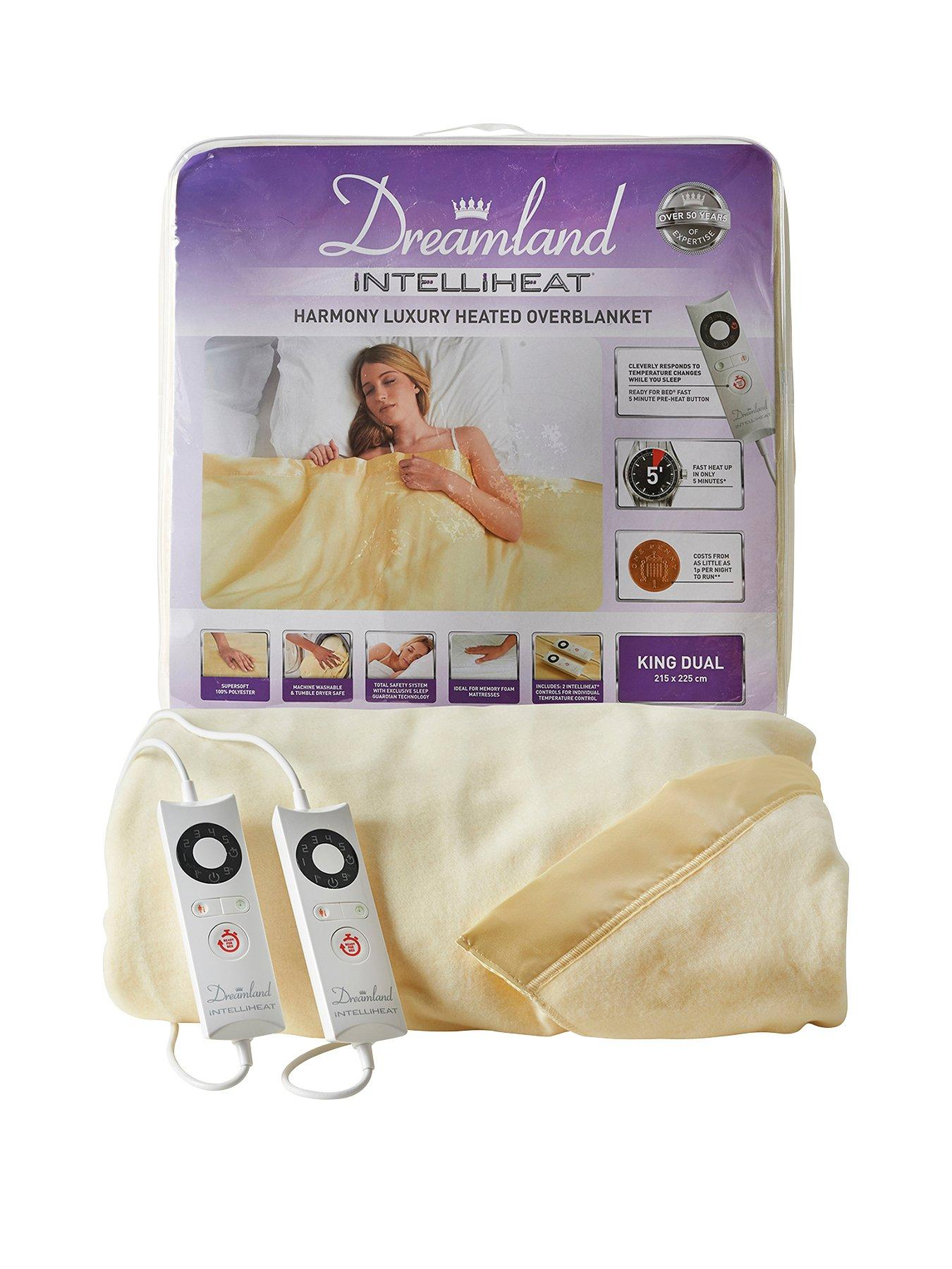 Compare prices for Dreamland Intelliheat Luxury Overblanket
