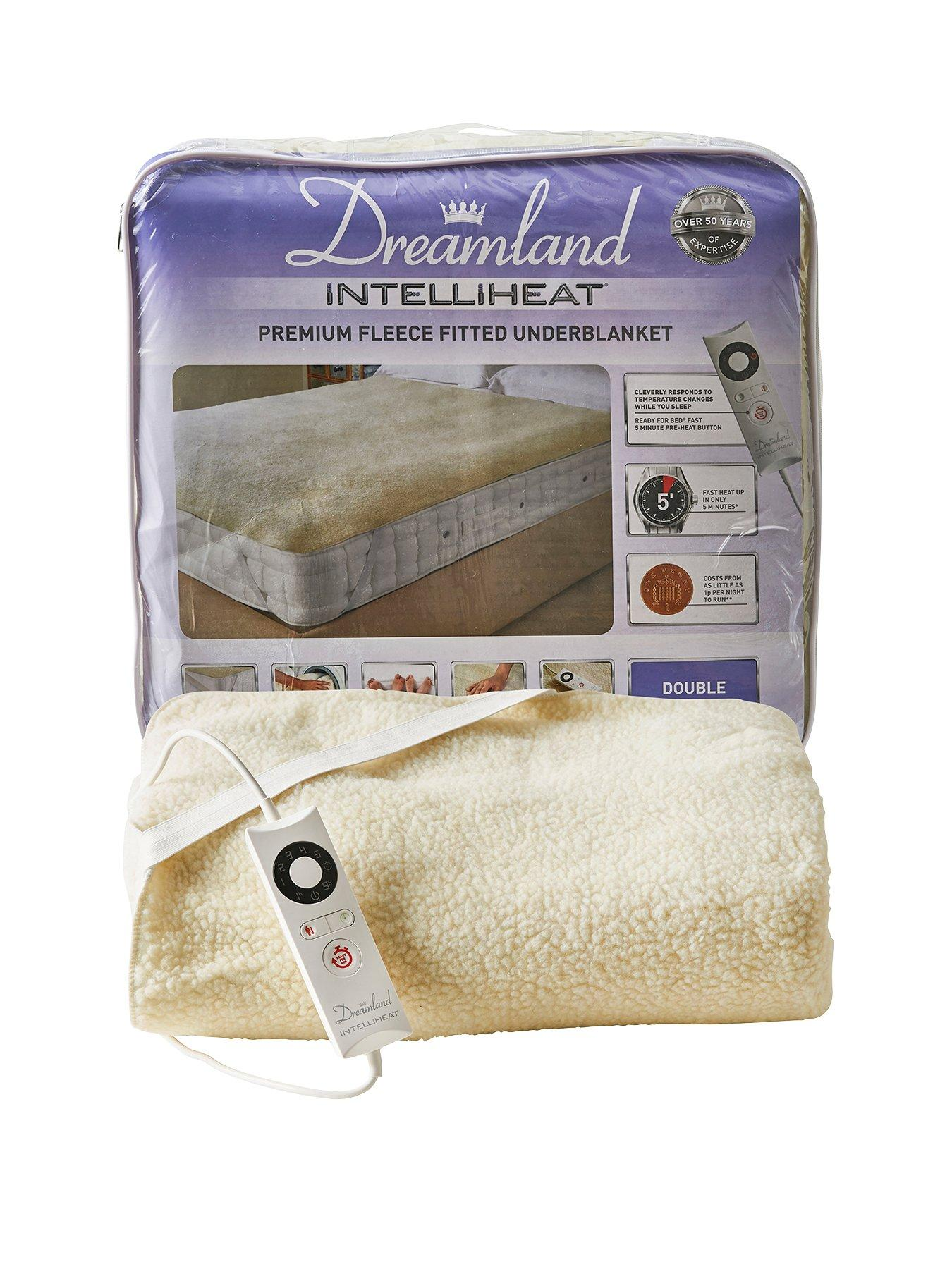 Compare prices for Dreamland Intelliheat Fleecy Underblanket