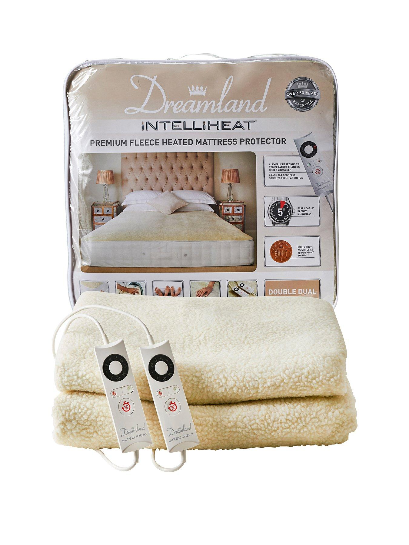 Compare prices for Dreamland Intelliheat Premium Fleece Mattress Protector