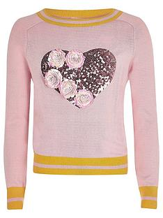 river-island-girls-knit-sequin-flower-jumper