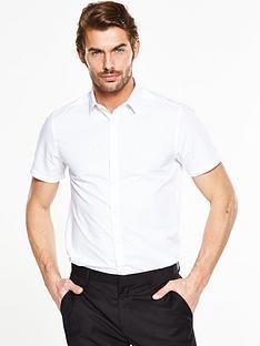 v-by-very-short-sleeve-slim-shirt