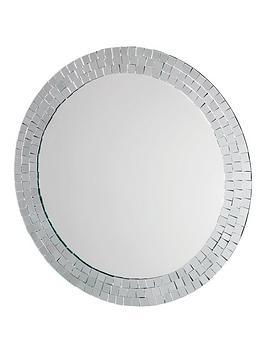 croydex-meadley-circular-mirror-with-mosaic-surround
