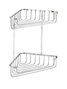 croydex-rust-free-medium-two-tier-cornor-basket