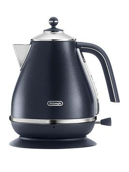Delonghi Elements Kettle  Blue