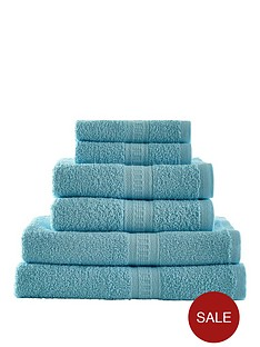 downland-6-piece-cotton-towel-bale-450gm