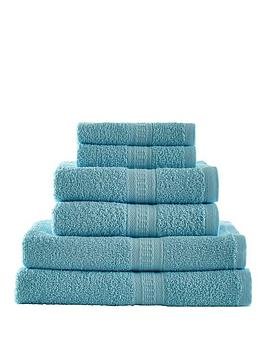 Downland Downland 6-Piece 450Gsm Cotton Towel Bale Picture