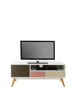 Very Orla Blush Tv Unit - Fits Up To 50 Inch Tv Picture