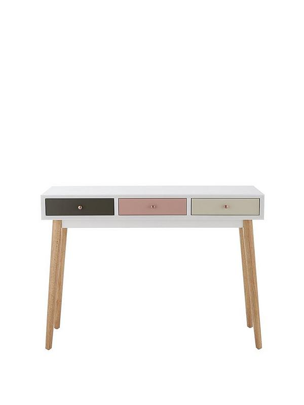 Orla Blush Console Table Littlewoods