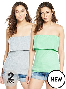 v-by-very-2-pack-frill-strapless-tops