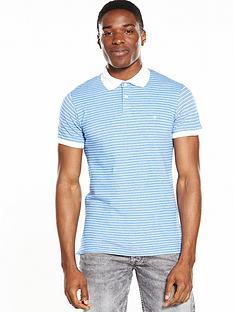 wrangler-short-sleeve-striped-polo