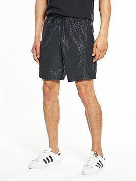 Adidas Originals Adidas Originals Ornamental Block Print Short