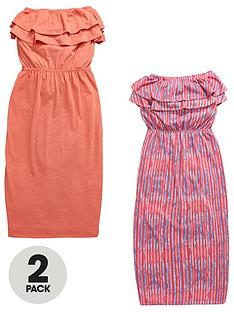 v-by-very-2-pack-ruffle-detail-maxi-dress