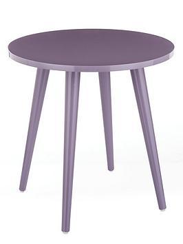 Teddy Side Table  Purple