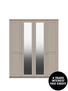 alderley-part-assembled-4-door-mirrored-wardrobe