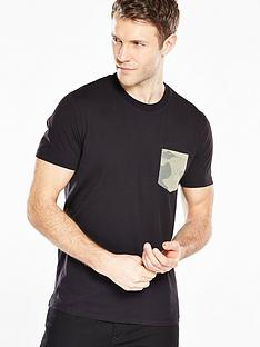 v-by-very-camouflage-pocket-t-shirt