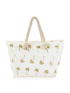 v-by-very-palm-tree-print-beach-bag