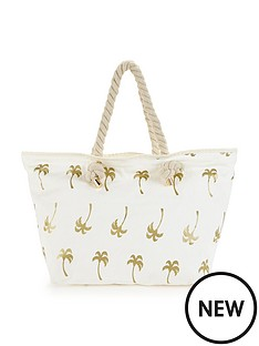 v-by-very-palm-tree-print-beach-bag