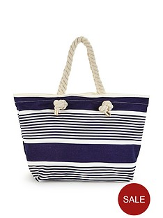 v-by-very-nautical-stripe-beach-bag