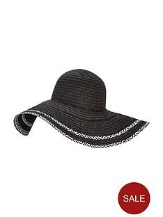 v-by-very-mono-floppy-straw-hat