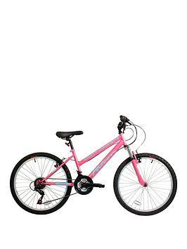 Falcon Venus Front Suspension Girls Mountain Bike 14 Inch Frame