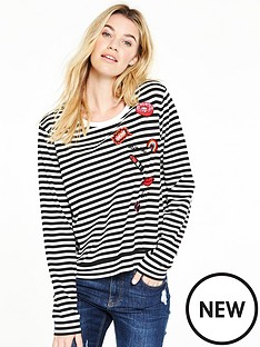 v-by-very-stripe-badge-sweat