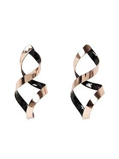 river-island-twisted-dangle-earing