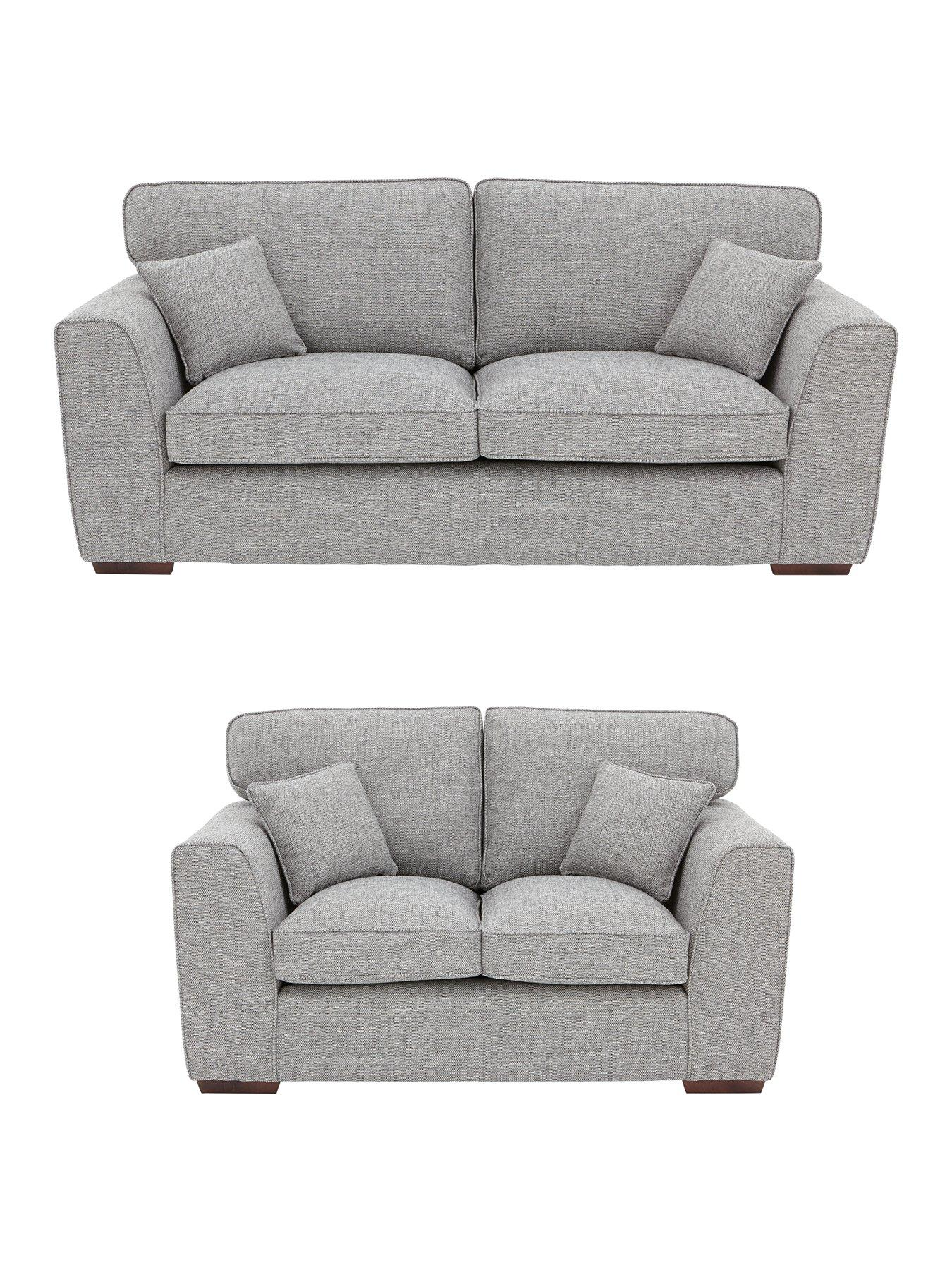 rio 3seater 2seater standard back fabric sofa set buy and save