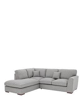 Very Rio Fabric Left Hand Standard Back Corner Chaise Sofa Picture