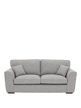 Very Rio Fabric 3 Seater Standard Back Sofa Picture