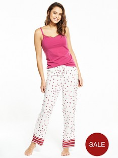 v-by-very-cami-floral-stripe-pj-set