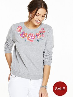 v-by-very-embroidered-loopback-sweatshirt