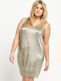 ri-plus-metallic-dress-gold