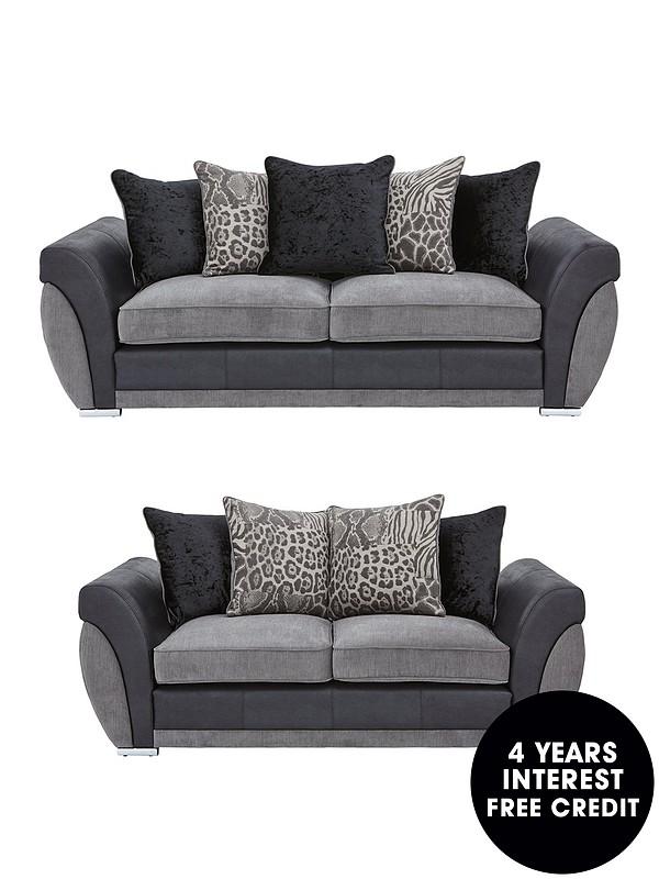 Hilton 3 Seater 2 Sofa Set