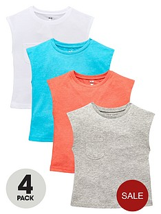 v-by-very-girls-4-pack-pocket-tees