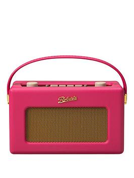 Roberts Radio Revival Rd60F Radio  Fuchsia Pink