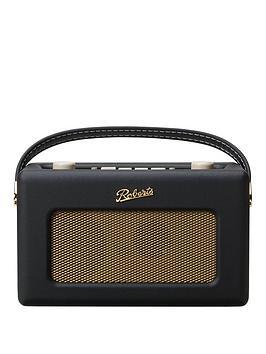 Roberts Rd60Fblk Revival Rd60 Radio  Black