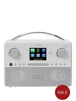 roberts-stream93inbspradio-white-dabdabfm-rds-and-wifi-internet-radio-with-three-way-speaker-system