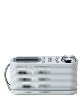 Roberts Play10 Radio DabDabFm Digital Radio With Simple Presets  White