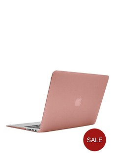 incase-hardshell-laptop-cover-case-for-13-inchnbspmacbook-air-with-textured-dots-rose-quartz