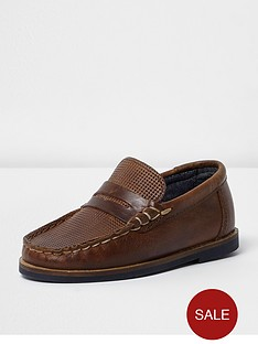 river-island-mini-boys-leather-loafer
