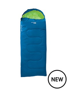 yellowstone-ashord-junior-300-blue-sleeping-bag