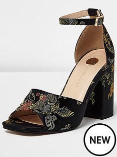 river-island-tulip-block-heel-sandal-black