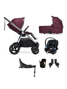 mamas-papas-ocarro-pushchair-6-piece-travel-system-bundle-pushchair-carry-cot-car-seat-adaptor-and-cupholder