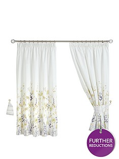 ida-watercolour-floral-lined-pencil-pleat-curtains